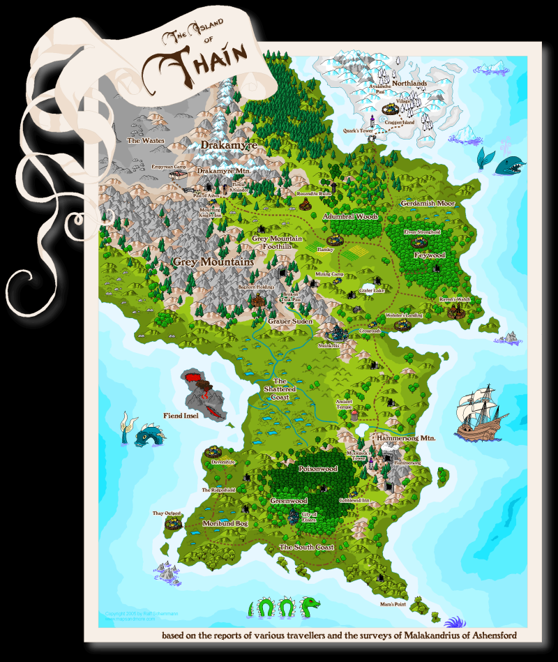 The Island of Thain
